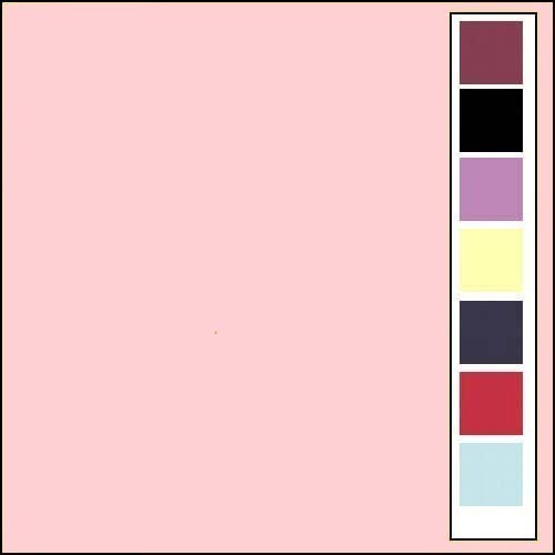 Linnenkarton - Oplegkaartjes - Licht roze