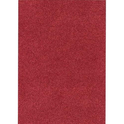 rood glitter A4