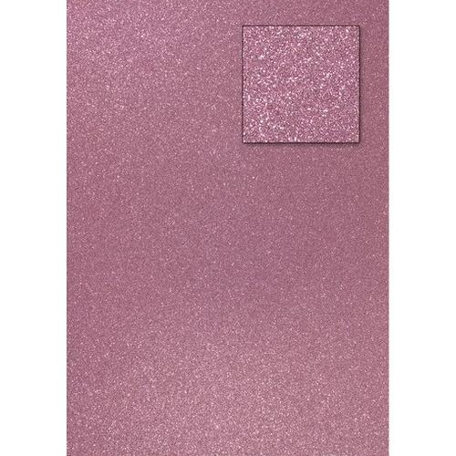 A4 glitter Licht roze/oud roze