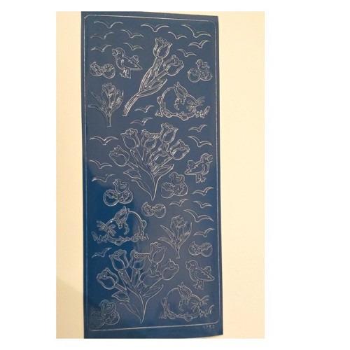 1753 sticker blauw