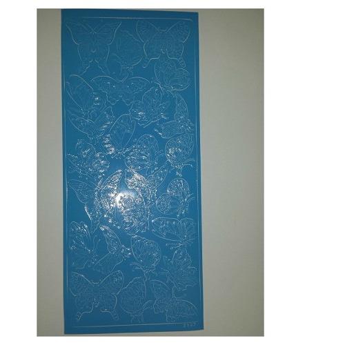 2147 sticker licht blauw
