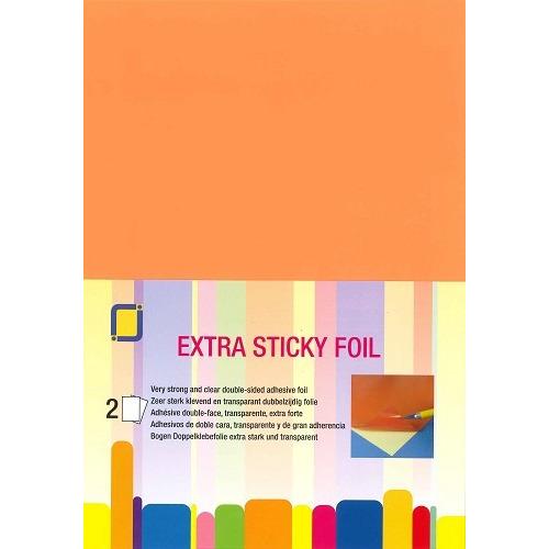 Extra sticky film 2x A4 vellen
