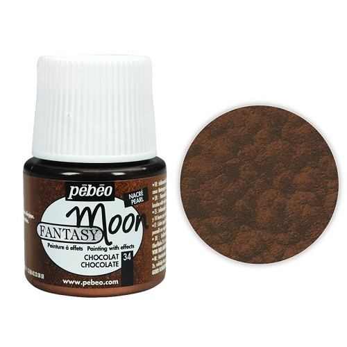 Moon Effect Paint, Chocolate