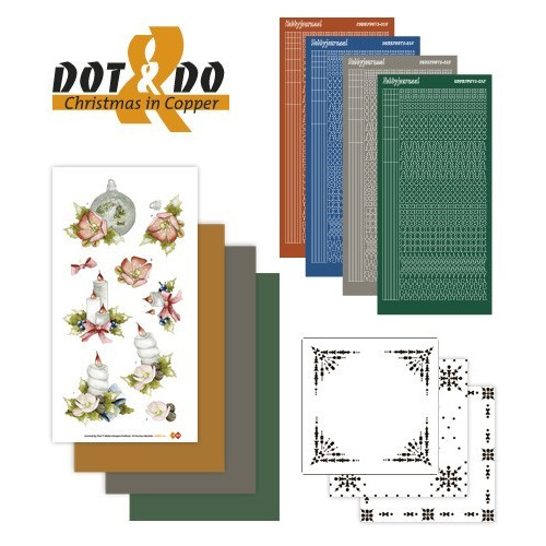 Dots en Do 17 - Christmas in Copper