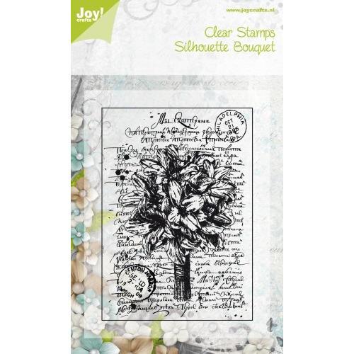 Joy! Crafts Clear Stamps Silhouette Bouquet #JAN14