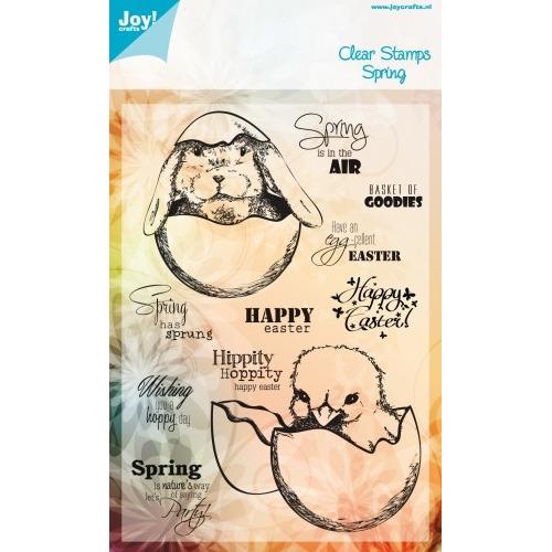 Joy! Crafts Stempel tekst ENG - pasen #JAN14