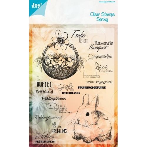 Joy! Crafts Stempel tekst DE - pasen #JAN14