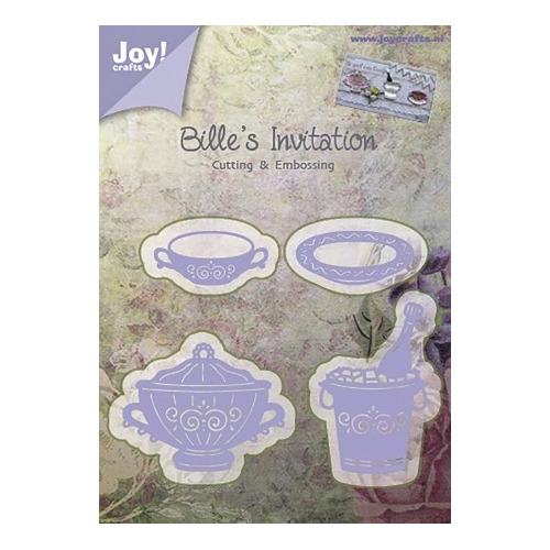 Cutting & Embossing stencil - Bille`s Invitation