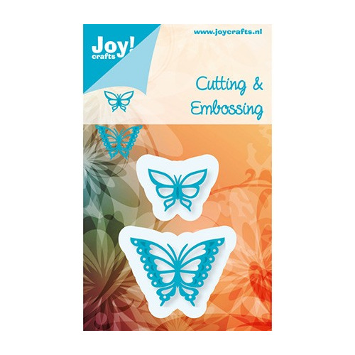 Cutting & Embossing stencil - Vlinders (2st)