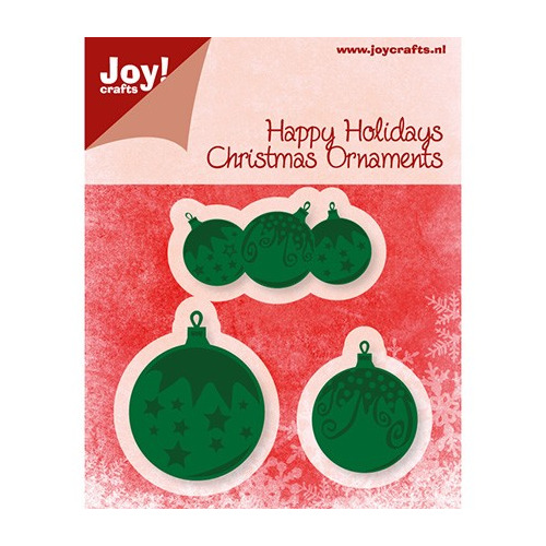 Cutting & Embossing stencil - Christmas Ornaments