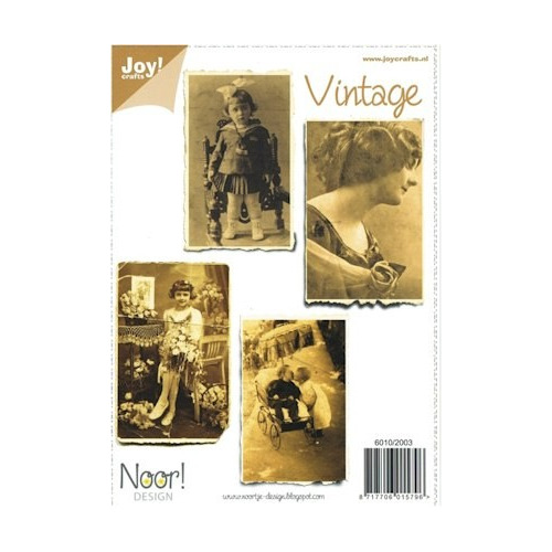 Joy! knipvel A5 vintage 1 #OKT
