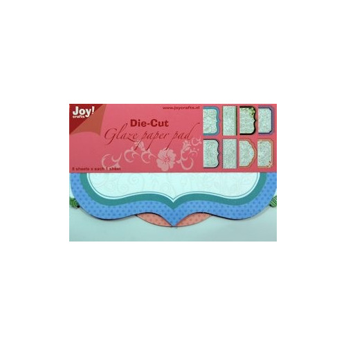Joy! Die Cut Glaze paper pad  #SEP13