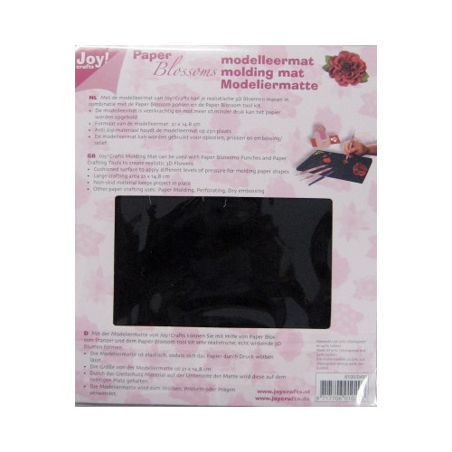 Joy!Craft Paper Blossoms Flower Shaping Tools Molding Mat