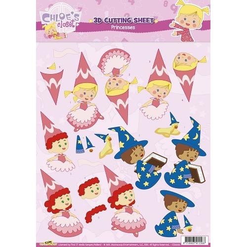 3D Knipvel - Cloe`s Closet - Princesses