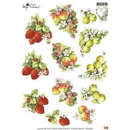 3D Knipvel Studio Martare - Fruit