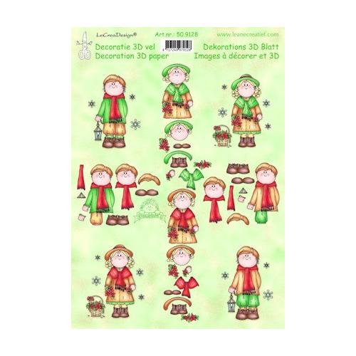 knipvel A4 Bambinie`s Christmas