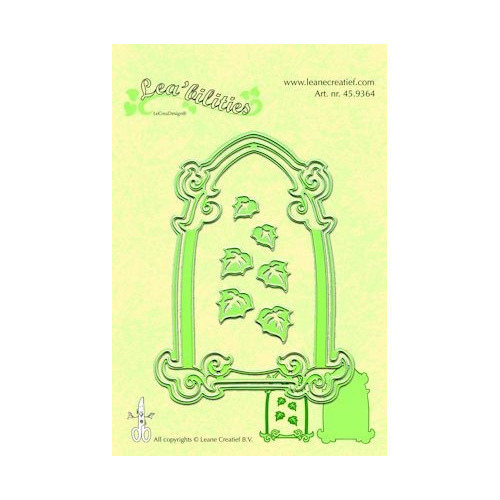 Lea`bilitie mal frame arch & leaves