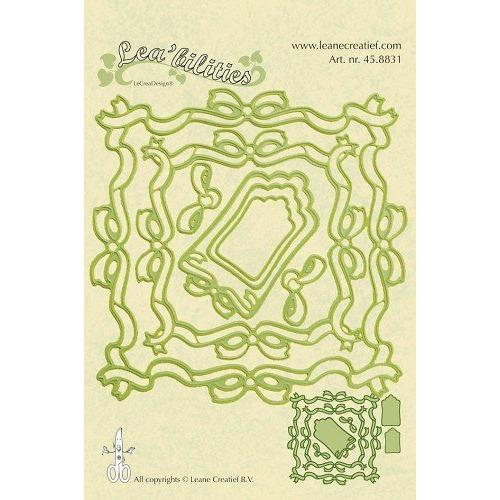 Lea`bilitie mal frame square ribbons