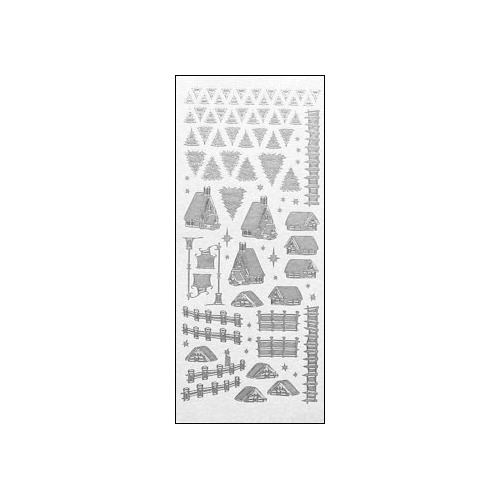 LeCreaDesign winter scenery stickers 41