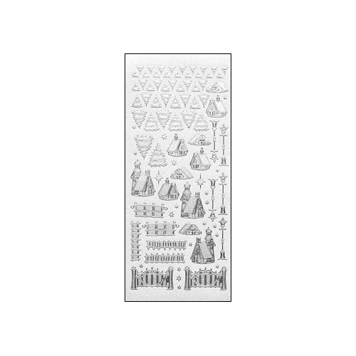 LeCreaDesign winter scenery stickers 40