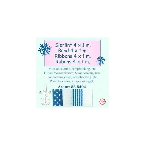 Lint assortiment winter blauw-wit 1
