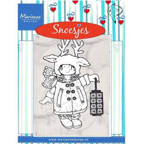 Clear Stamp Christmas costume Snoesjes #AUG