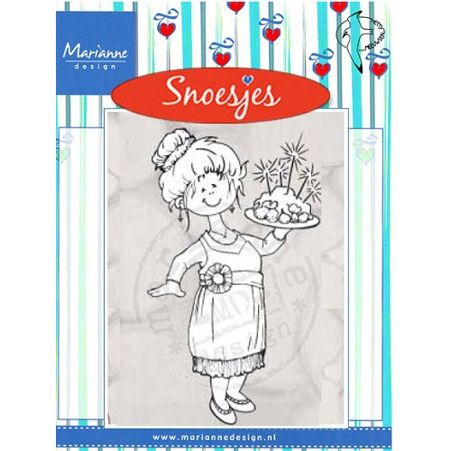Clear Stamp Christmas diner  Snoesjes #AUG
