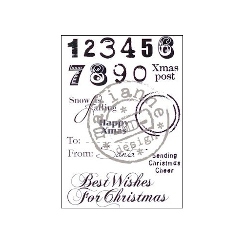 Clear Stamp Eline`s christmas sentiments (UK) #SEP13