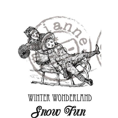 Marianne D Stempel Winter Wonderland - CS0907