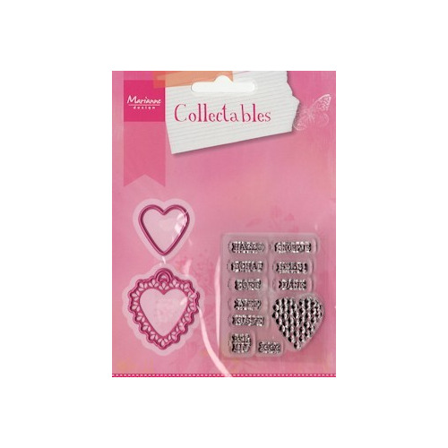 COL1306 Collectables set Candy hearts NL #JAN13