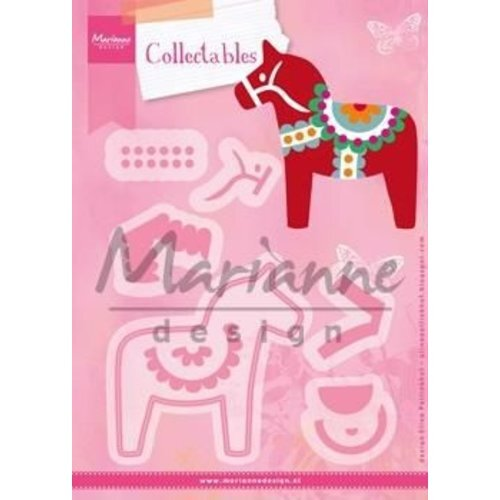 Marianne Design Collectable - Eline`s Dala Horse #sep14