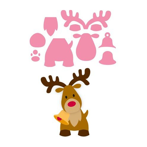Marianne Design Collectable - Eline`s Reindeer #sep14