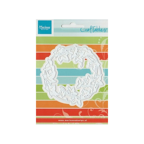 Craftables stencil hedera (cirkel) #APR