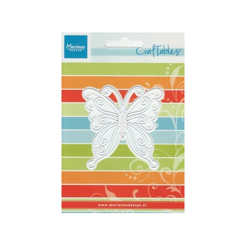 Craftables stencil vlinder #JAN