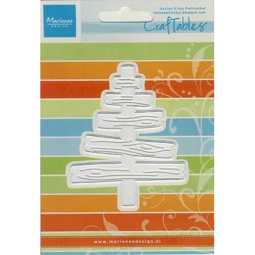 Craftables stencil Eline`s wooden tree #SEP