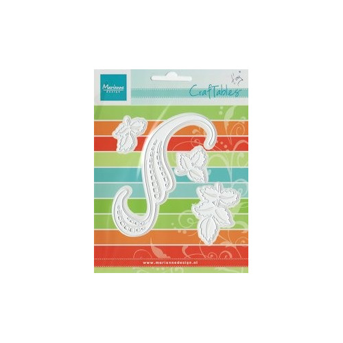 Craftables stencil swirls & leaves 3 #APR13