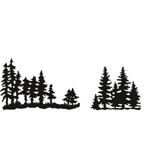 Marianne Design Craftable - Tiny`s Pinetrees #sep14