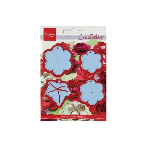 Creatables stencil flower XL