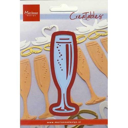 LR0237 Creatables stencil champagne #JUL