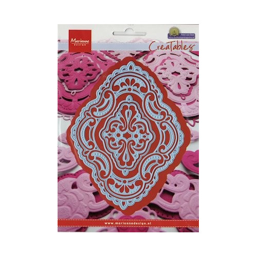 LR0279 Creatables stencil Petra`s ornaments #AUG13