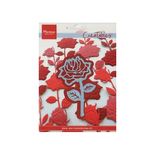 Creatables stencil rose #JAN14