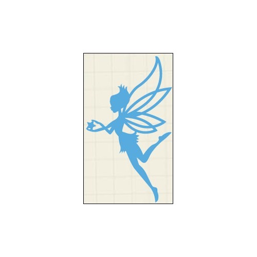LR0323 Creatables stencil fairy star #JUL14