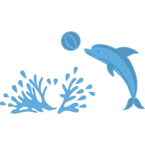 LR0332 Marianne D Creatable Dolphin
