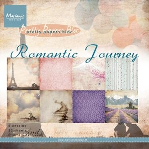Pretty Papers bloc Romantic Journey  #JUN13