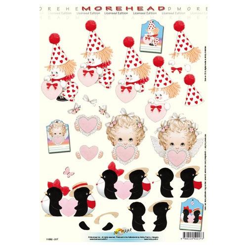 3D Knipvel Morehead Valentine