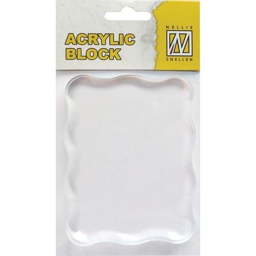 Acrylic Block 070x90x8