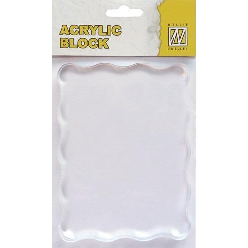 Acrylic Block 120x90x8