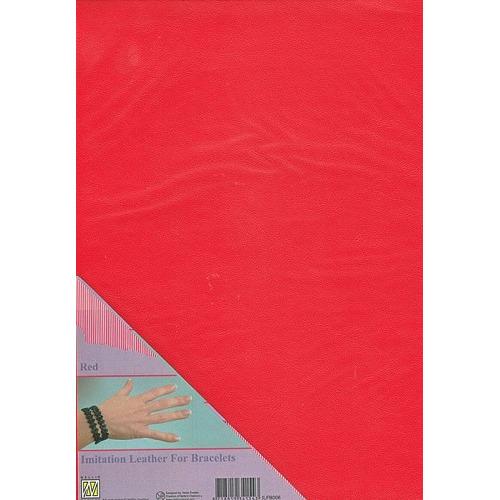 A4 Imitatie leer ILFB006 rood