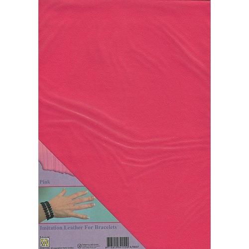 A4 Imitatie leer ILFB007 roze