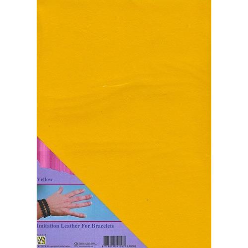 A4 Imitatie leer ILFB008 geel